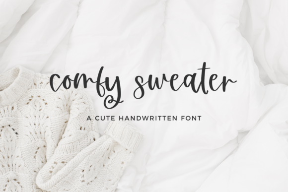 Print on Demand: Comfy Sweater Script & Handwritten Font By BeckMcCormick