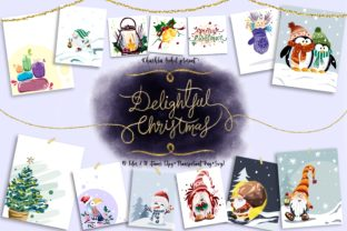 Delightful Christmas Graphic Illustrations By ArtstudioByKhushbu