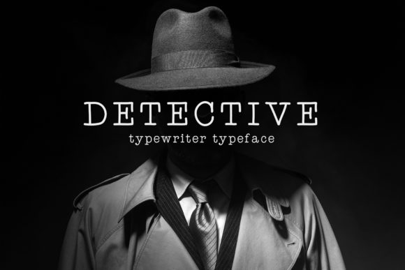 Print on Demand: Detective Serif Font By inspirationfeed