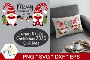 Print on Demand: Funny Christmas Gnomes Graphic Crafts By Queen Bee Papier
