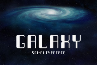 Print on Demand: Galaxy Display Font By inspirationfeed