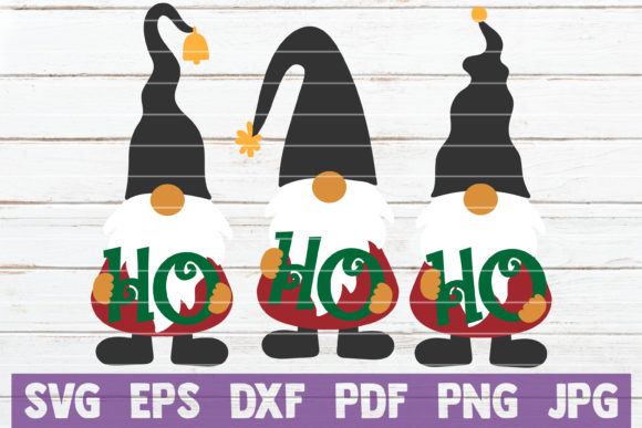 Gnomes Ho Ho Ho Graphic Crafts By MintyMarshmallows