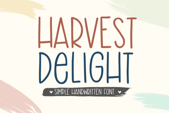 Print on Demand: Harvest Delight Script & Handwritten Font By Holydie Studio