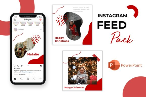 Instagram Feed - Natalie Graphic Presentation Templates By listulabs