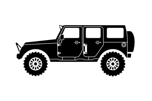 Jeep Silhouette Dangerous Outdoor Sport Graphic Logos By artpray