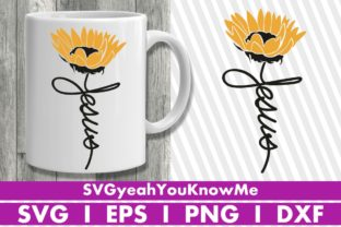 Jesus Sunflower Graphic Crafts By svgyeahyouknowme
