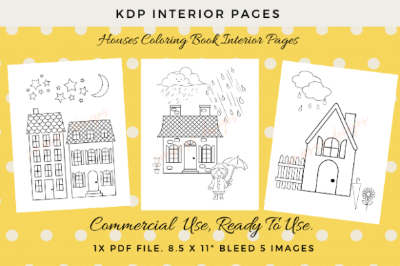 Print on Demand: KDP Interior Colouring Pages. Graphic KDP Interiors By Simpsys Designs