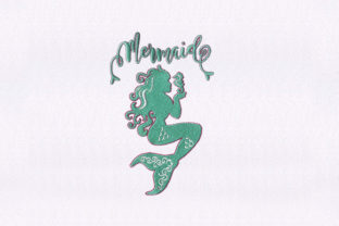 Mermaid Beach & Nautical Embroidery Design By DigitEMB