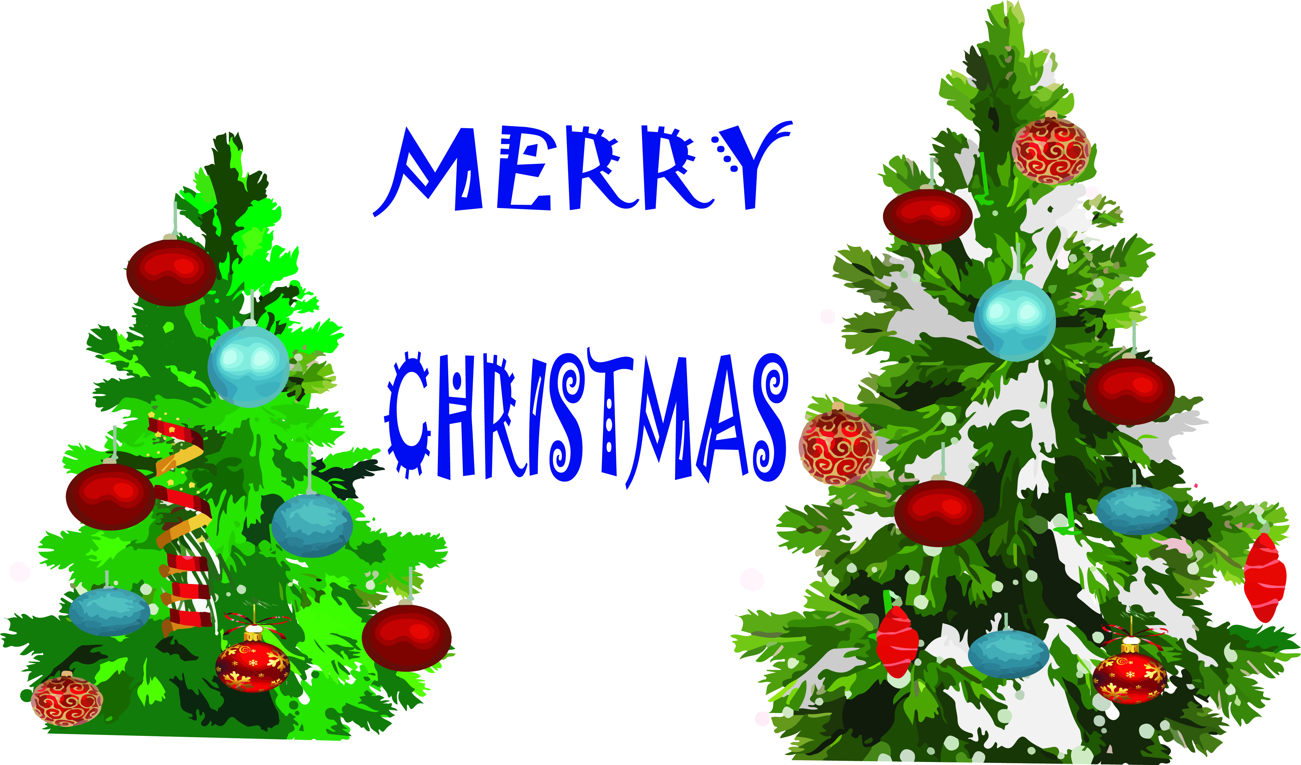 Christmas Clip Art for Sublimation Transfer Printing JPEG PNG Bright Christmas Tree Graphic File for Sublimation Printing