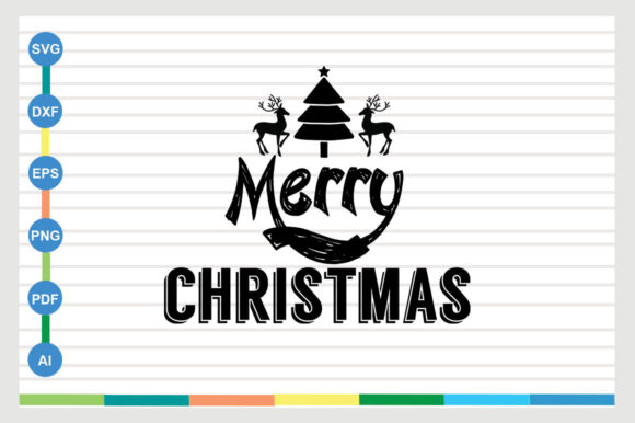 Merry Christmas Graphic Crafts By Designriverr