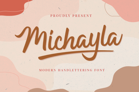 Print on Demand: Michayla Script & Handwritten Font By Holydie Studio