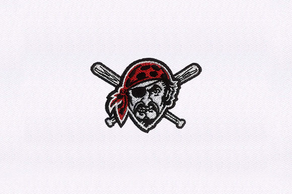 Modern Pirate Pirates Embroidery Design By DigitEMB