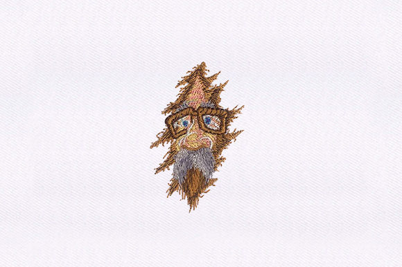 Old Man Cap Grandparents Embroidery Design By DigitEMB