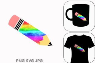 Print on Demand: Pencil LGBT Graphic Graphic Illustrations By Chiplanay