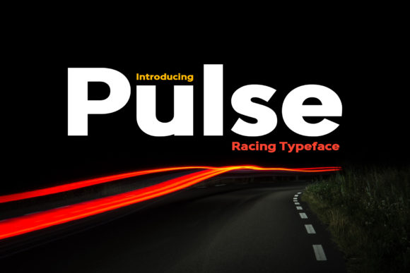 Print on Demand: Pulse Display Font By inspirationfeed