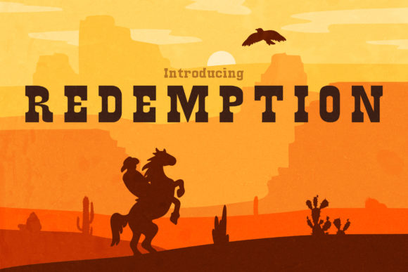 Print on Demand: Redemption Serif Font By inspirationfeed