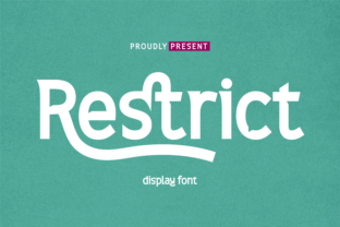 Print on Demand: Restrict Serif Font By twinletter