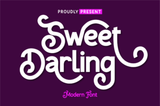 Print on Demand: Sweet Darling Sans Serif Font By twinletter