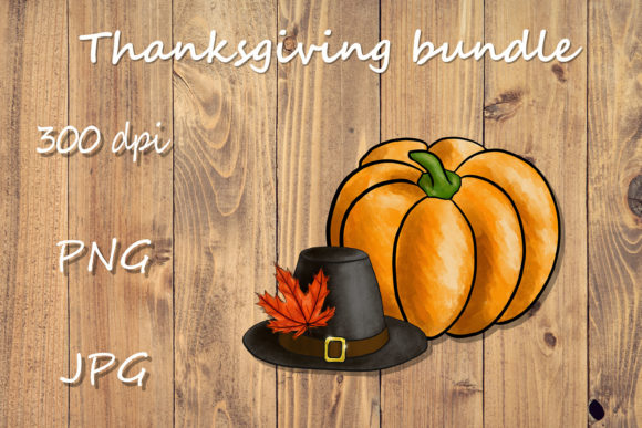 Print on Demand: Thanksgiving Bundle Graphic Illustrations By Citrum Nobile