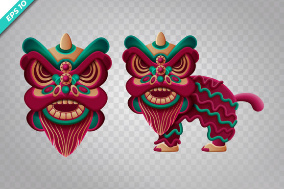 Chinese Dragon Custom Graphic Illustrations By Aghiez