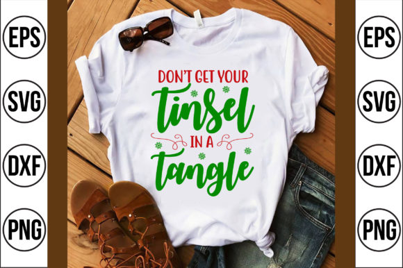 Don't Get Your Tinsel in a Tangle Graphic Crafts By Craft Store