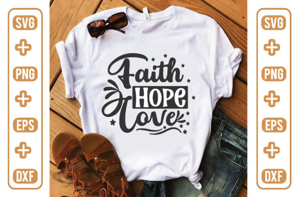 Faith Hope Love Graphic Crafts By craftstore