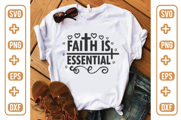 Faith is Essential Graphic Crafts By craftstore