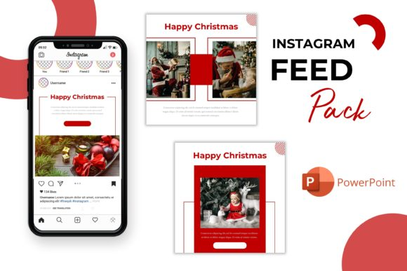 Instagram Feed - Holly Graphic Presentation Templates By listulabs