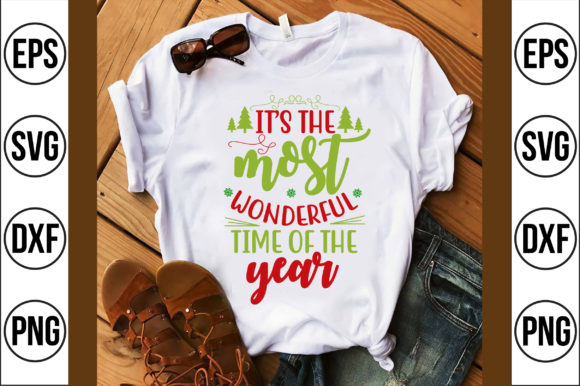 It's the Most Wonderful Time of the Year Graphic Crafts By Craft Store