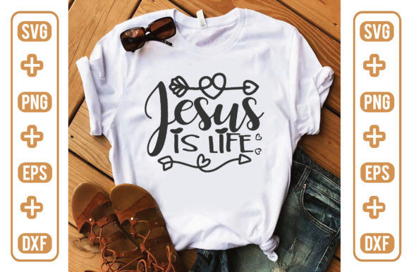 Jesus is Life Graphic Crafts By craftstore