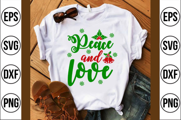 Peace and Love Graphic Crafts By Craft Store