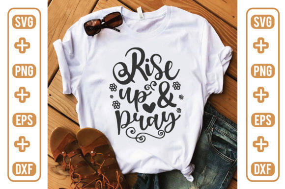Rise Up and Pray Graphic Crafts By craftstore
