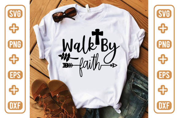 Walk by Faith Graphic Crafts By craftstore