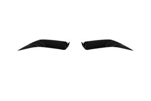 Eyebrows Beauty & Fashion Craft Cut File By Creative Fabrica Crafts