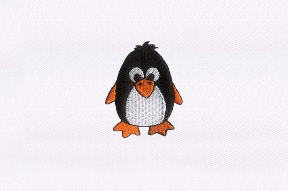 Baby Penguin Birds Embroidery Design By DigitEMB