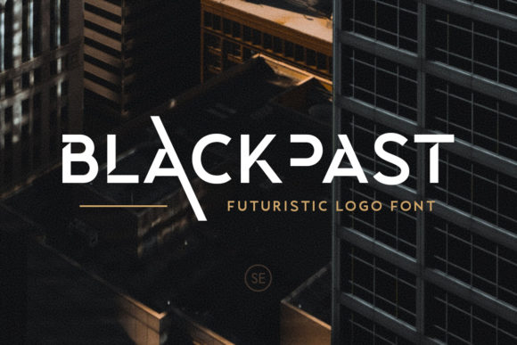 Print on Demand: Blackpast Display Font By saridezra