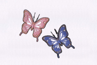 Butterfly Bugs & Insects Embroidery Design By DigitEMB