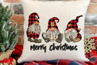 Christmas Gnome Sublimation Graphic Print Templates By riryndesign