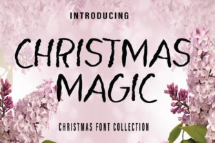 Print on Demand: Christmas Magic Script & Handwritten Font By Farz Studio