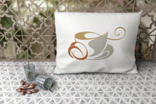 Print on Demand: Cup of Coffee House & Home Embroidery Design By embroidery dp