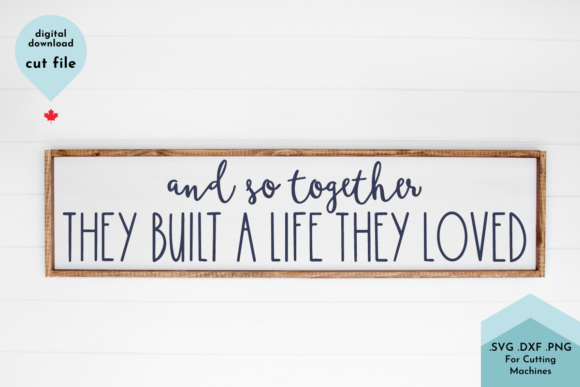 Print on Demand: Family Sign, Married, Together, Couples Graphic Crafts By Lettershapes