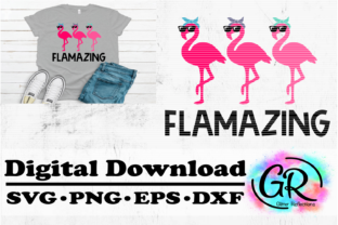 Flamingo Graphic Objects By Glitter Reflections Co.
