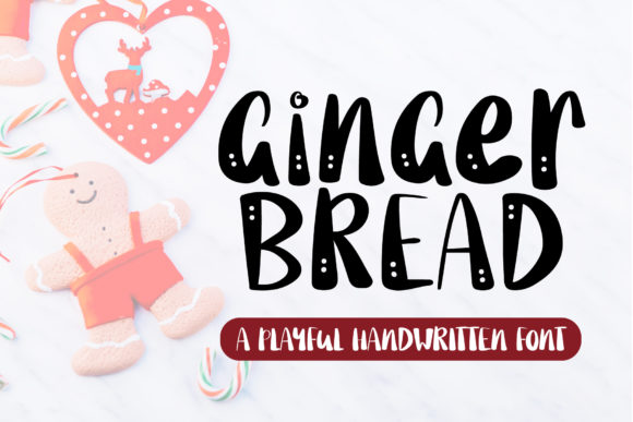 Print on Demand: Gingerbread Display Font By AquariiD