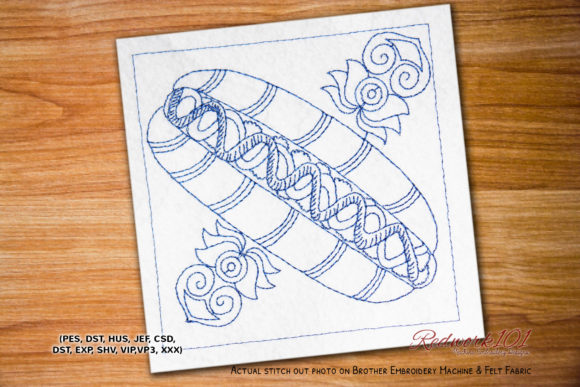 Grilled Hot Dog Lineart Design Food & Dining Embroidery Design By Redwork101