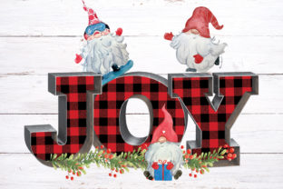 Joy Christmas Sublimation Design Graphic Graphic Print Templates By riryndesign