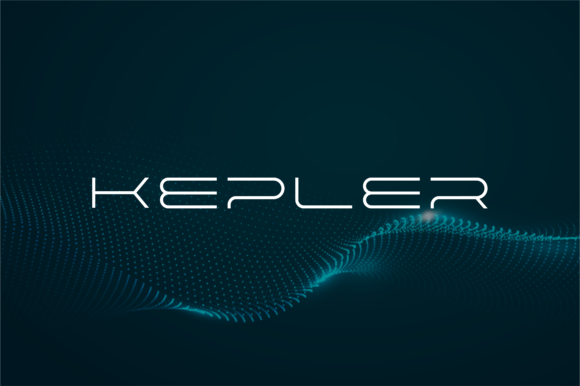 Print on Demand: Kepler Display Font By shininglabs