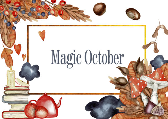 Magic October Graphic Illustrations By Dona Tonka