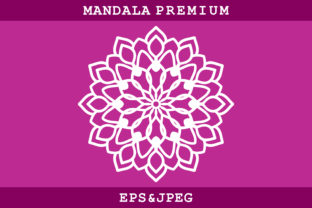 Print on Demand: Mandala Ornament Graphic Coloring Pages & Books Kids By MbahSinyo