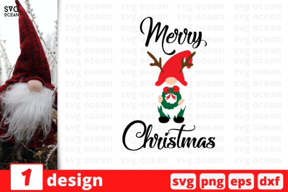 Merry Christmas Graphic Crafts By SvgOcean