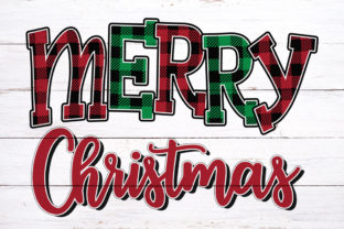 Merry Christmas Sublimation Graphic Print Templates By riryndesign